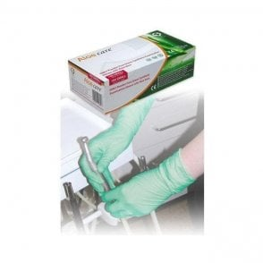 HPC Aloecare Synthetic Gloves P/Free Small (GN67) - Box100