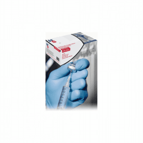 HPC HandSafe Blue Nitrile Gloves P/Free Medium GN90 - Box200