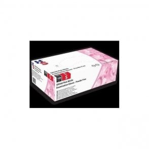 HPC HandSafe Pink Nitrile Gloves Large (GN560) - Box100