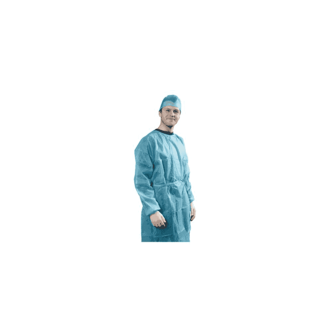 Hygitech Clothing Isolation Gown S (HY-50027) - Box30