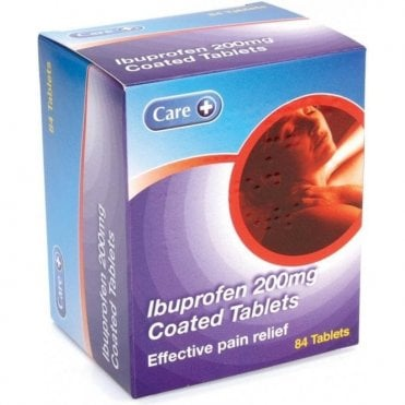 K/Pharm Ibuprofen Tablets BP 200mg - Pack84