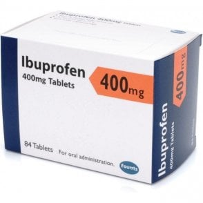 K/Pharm Ibuprofen Tablets BP 400mg - Pack84