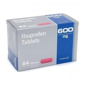 PVL Ibuprofen Tablets BP 600mg - Pack84