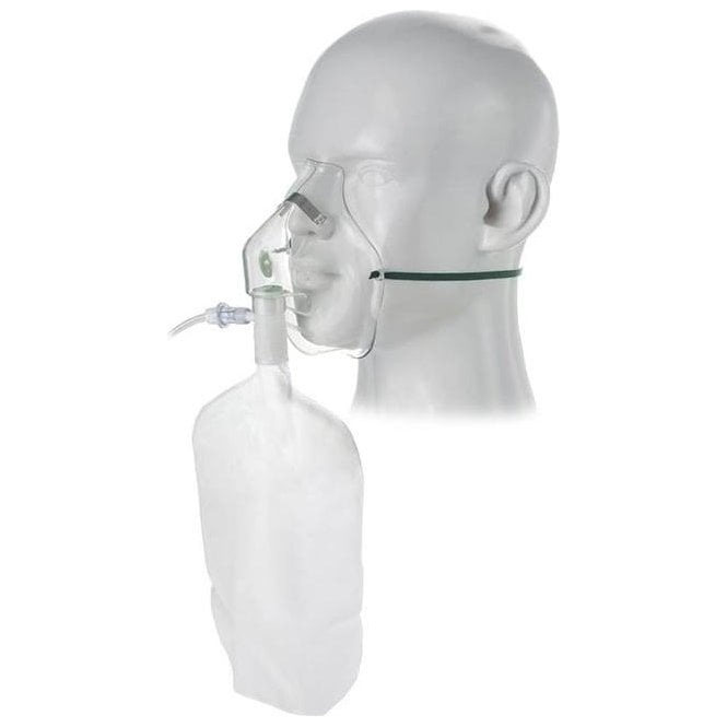 Intersurgical Adult High Concentration Oxygen Mask - Each