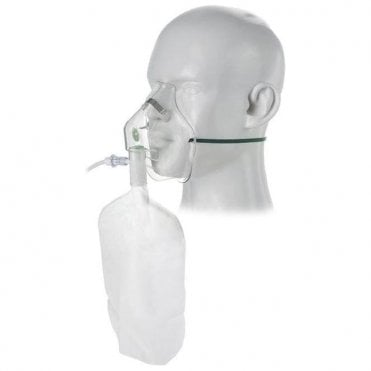 Intersurgical Ltd. Intersurgical Adult High Concentration Oxygen Mask - Each