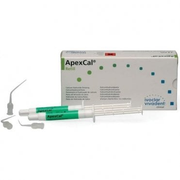 Ivoclar Vivadent ApexCal Refill 2x2.5g (595915) - Pack2