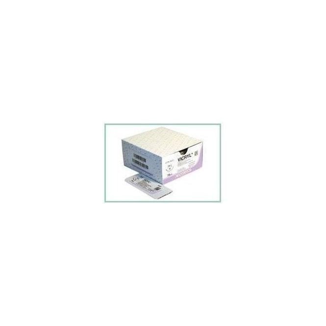Johnson & Johnson Ethicon Sutures Vicryl 4/0 (W9443) - Box12
