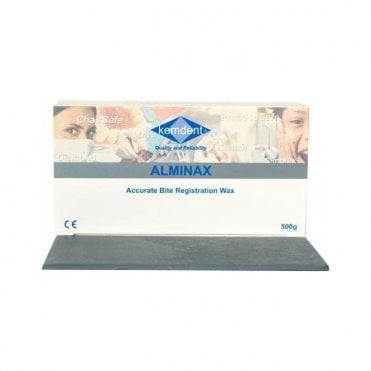 Kemdent Alminax Bite Registration Wax 500g - Each