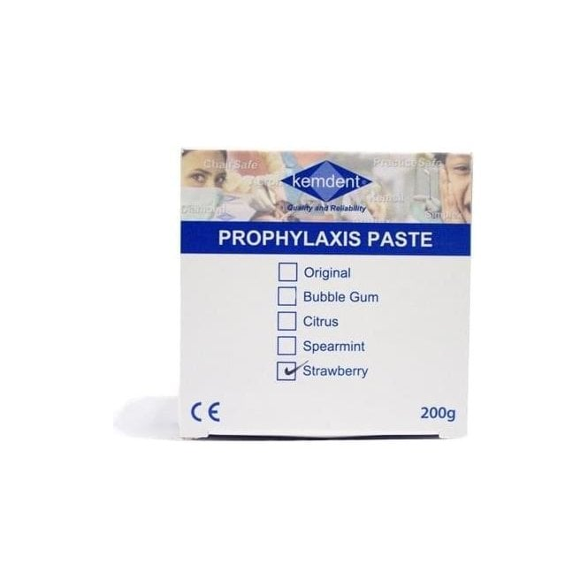 Kemdent Prophylaxis Paste Strawberry 200g - Each
