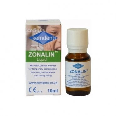 Kemdent Zonalin Liquid 10ml (LAB003) - Each
