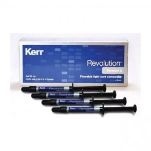 Kerr Revolution Syringes Gingival 4x1g (29510) - Box4