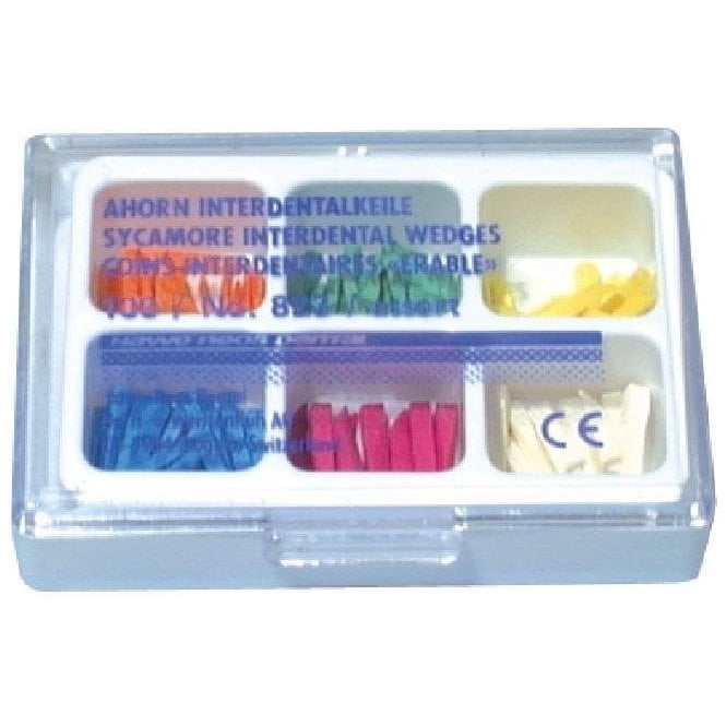 Kerr Sycamore Interdental Wedges Assorted Pack (823) -Box100