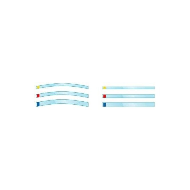 Kerr Transparent Strips Blue 10mm Straight (692) - Box100