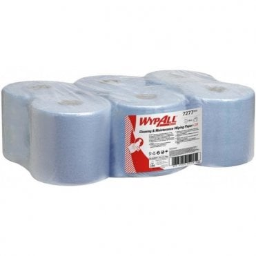 Kimberly-Clark 2 Ply Centre Feed Rolls Blue 7277 (6x150m)