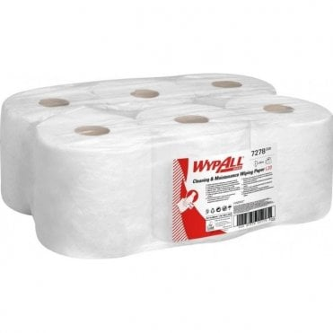 Kimberly-Clark 2 Ply Centre Feed Rolls White 7278 (6x150m)