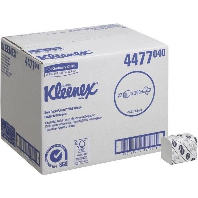 Kimberly-Clark Kleenex Toilet Tissue 4477 (27x260=7020)