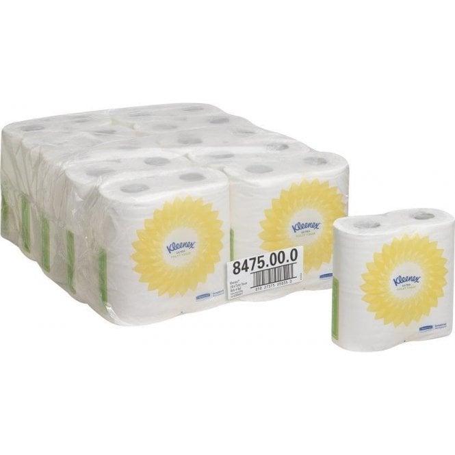Kimberly-Clark Kleenex Ultra 2ply Toilet Tissue Rolls (8475)