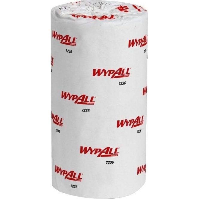 "Kimberly-Clark Wypall L10 10"" Rolls White 7236 (24x165=3960)"