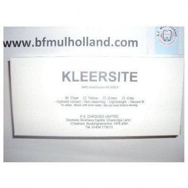 Kleersite Safety Glasses Clear - Each