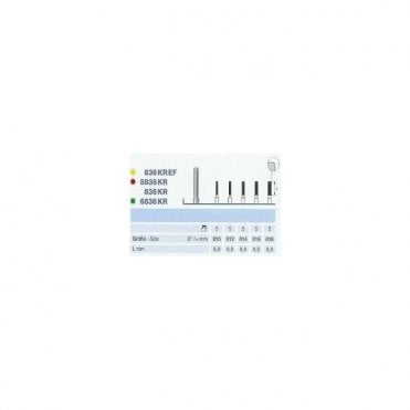 Komet Diamond Bur 6836KR 314.014 - Pack5
