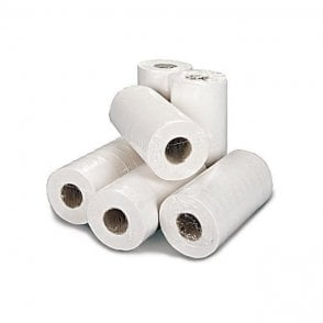 "Kruger 10"" Rolls 2 Ply White - Case18"