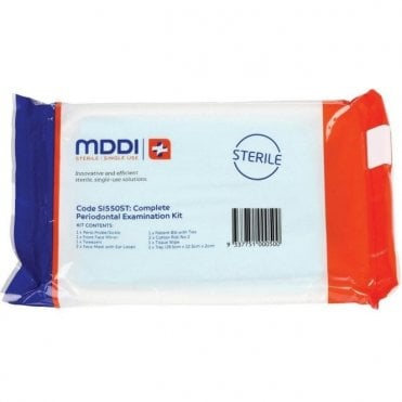 MDDI Complete Periodontal Examination Kit - Pack25