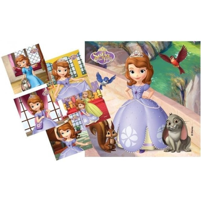 MediBadge Sofia The First Stickers - Pack90