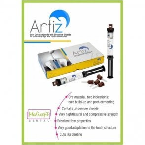 Medicept Artiz Dual Cure Core Buildup Syringe (9013) - Box2