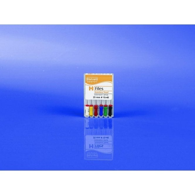 Medicept H Files L25mm Size 15-40 - Pack6
