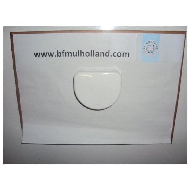 Metrodent Ortho Boxes White 20mm - Each