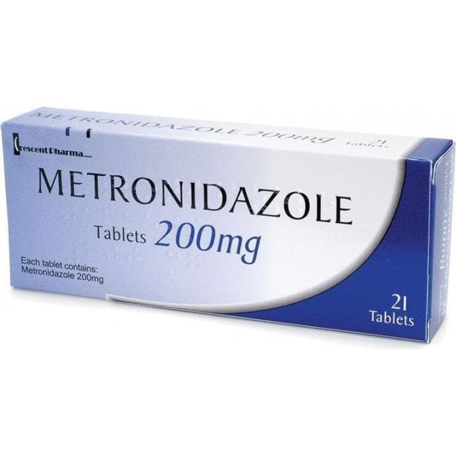 Metronidazole PP Tablets 200mg - Pack21