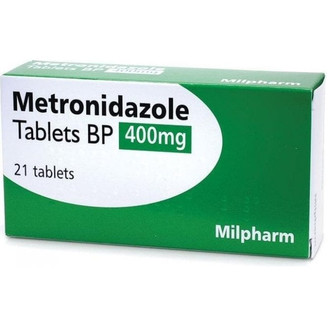Metronidazole Tablets 400mg - Pack21