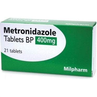 K/Pharm Metronidazole Tablets 400mg - Pack21