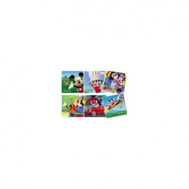 Sherman Mickey Clubhouse Stickers (PS378) - Roll100
