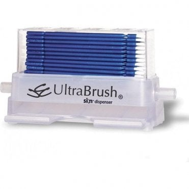 Microbrush UltraBrush 1.0 Fine Size Blue Dispenser Kit (U1D)