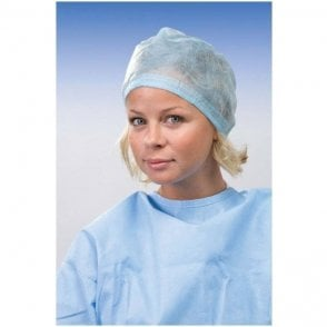Omnia Surgical Cap Adjustable Ties Light Blue (30.M0005.00)