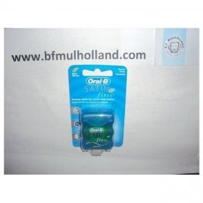 Oral-B Satin Floss Mint 25m (75040813) - Pack12