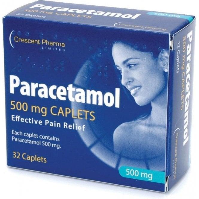 Paracetamol Tablets BP 500mg - Pack32