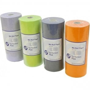 Perfection Plus Bib Roll Paper-Plastic White PP002/0019 - 80