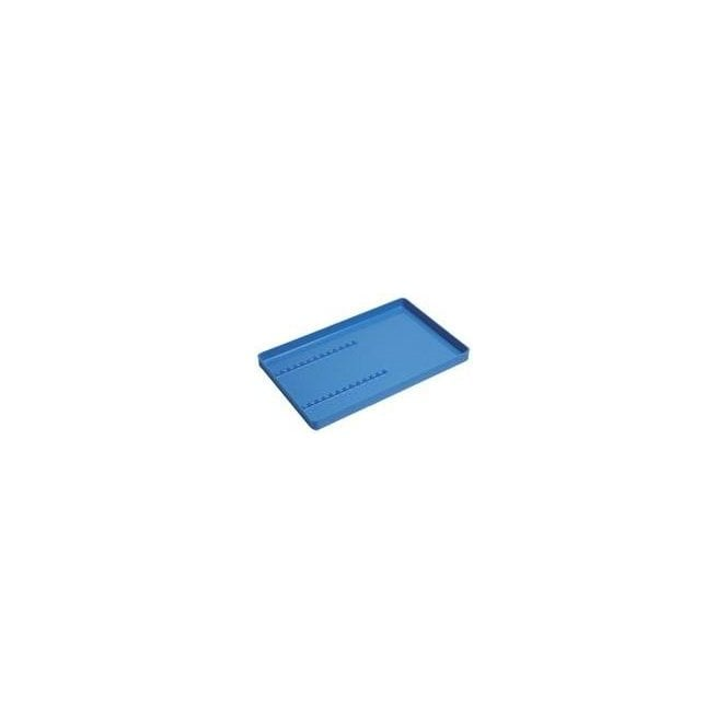Perfection Plus Plastic Instrument Tray Blue with Rack