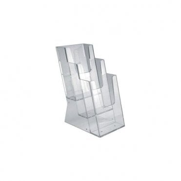 Philips 3 Tier Leaflet Dispenser (SPR0012) - Each