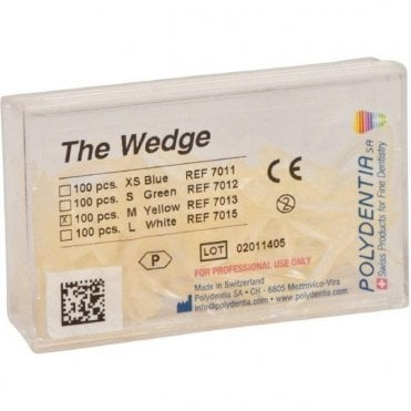 Polydentia The Wedge Translucent Medium Yellow (7013)
