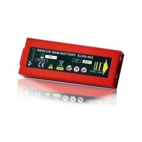 Rescue Sam Defibrillator Disposable Long Life Battery