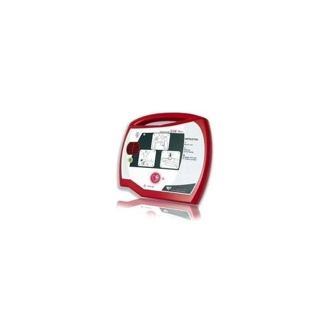 Rescue Sam Fully-Automatic AED + Wall Bracket