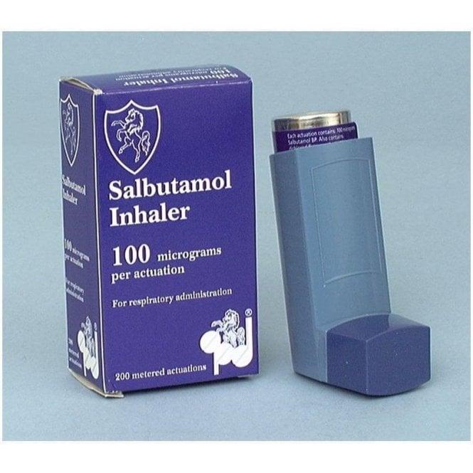 Salbutamol Inhaler 0.1mg metered dose
