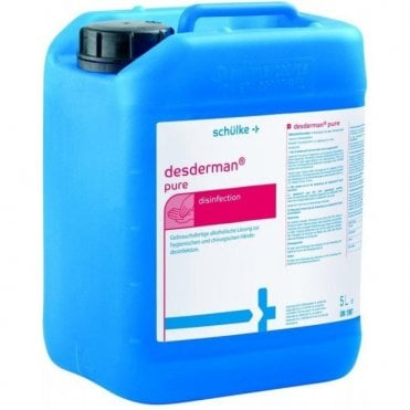 Schulke Desderman Pure Liquid 5Litre (116810) - Each