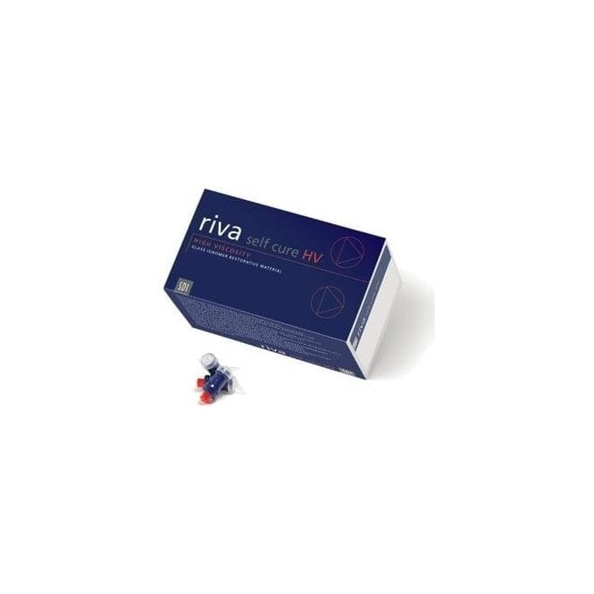 SDI Riva Self Cure HV Capsules A1 (8630001) - Box50