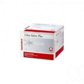 Septodont Ultra Safety Plus Needles 27g Long Yellow - Box100