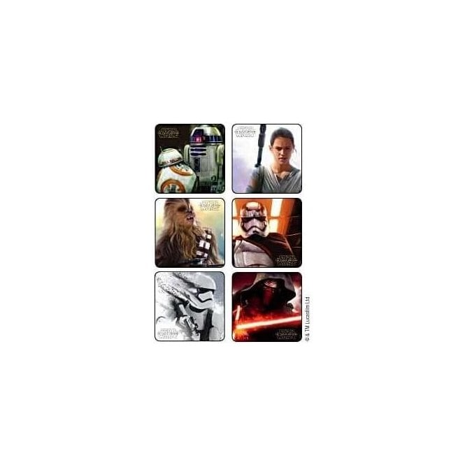 Star Wars Stickers (PS627) - Roll 100