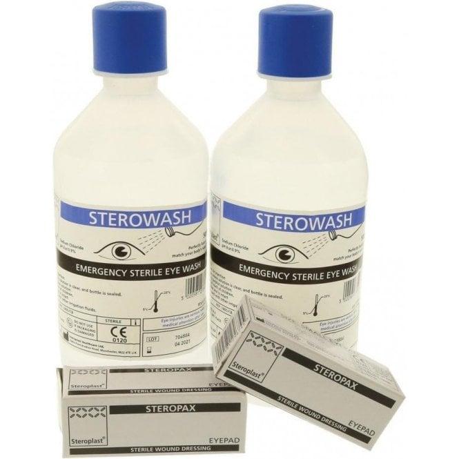 Steroplast SteroWash Economy Eyewash Station - Each